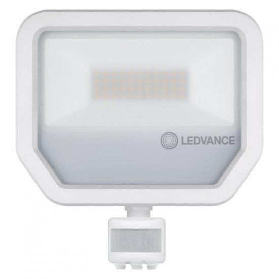 LED прожектор със сензор LEDVANCE GEN 3 50W 4000K 6000Lm IP65 бял 120Lm/W