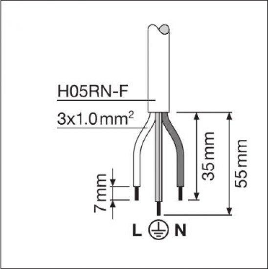 LED прожектор LEDVANCE GEN 3 80W 6500K 10000Lm IP65 черен 125Lm/W