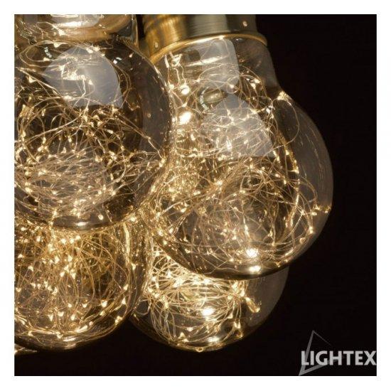 LED полилей BULB II 7.5+18.9W 3000K 3770Lm опушено
