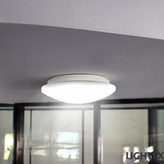 LED плафон SANI 12W 4000K 800Lm IP44 ф27см
