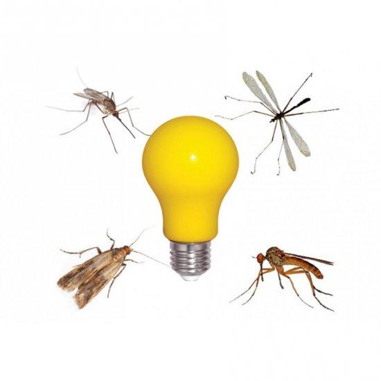 LED крушка против комари BuZzz E27 6W 2200К 520Lm