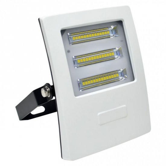 LED прожектор ALASKA 30W 6000K 2850Lm IP65 бял