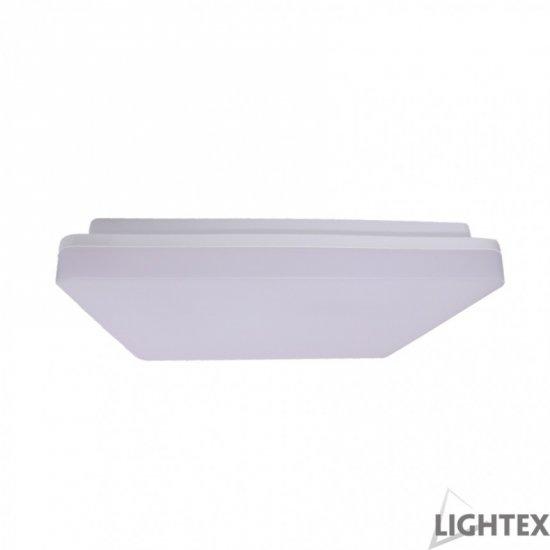 LED плафон влагозащитен IP54 ZIZU II 24W 4000K 1920Lm 28x28см