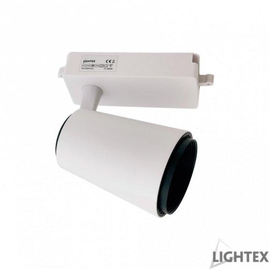 LED релсов прожектор PLUS 30W 3-white 3000/4000/6500K 2700Lm димируем бял