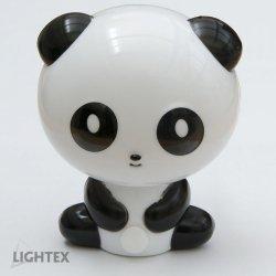 LED нощна лампа за контакт PANDA 0.4W 4000K 10Lm 220V