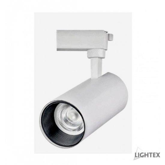 LED прожектор релсов PLUS 20W 3-white 2100Lm IP20 димируем бял