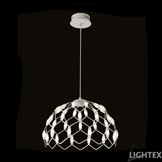 LED полилей VANESA висящ 36W 3200K 2880Lm бял