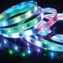 LED SMD лента дигитална - 3 чипа 50x50 60/м 14.4W/м RGB 490Lm/м IP20 /опаковка- 5м./