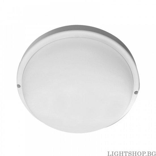 LED плафон със сензор за движение 360° VANI 12W 4000K 960Lm IP65 ф20см