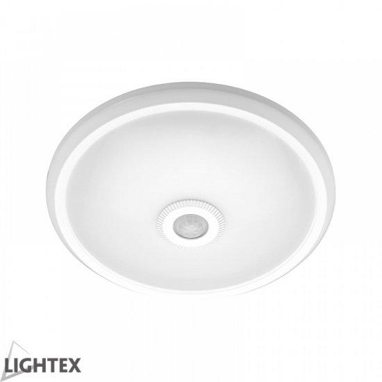 LED плафон със сензор за движение 360° 16W 4000K 1150Lm IP65 ф28.5см