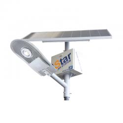LED соларен уличен осветител iStar 10W 5000K 1400Lm IP66