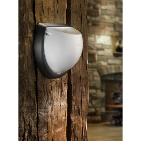 LED плафон влагозащитен Aqua Dolunay 9W 6400K IP54 25см бял