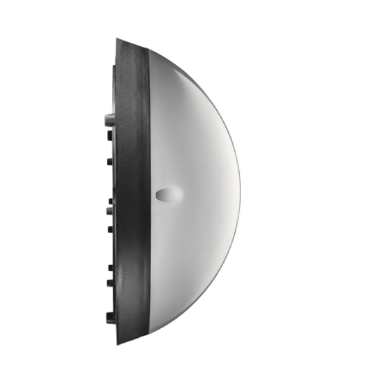 LED плафон влагозащитен Fullmoon 12W 3000K IP54 ф24см бял