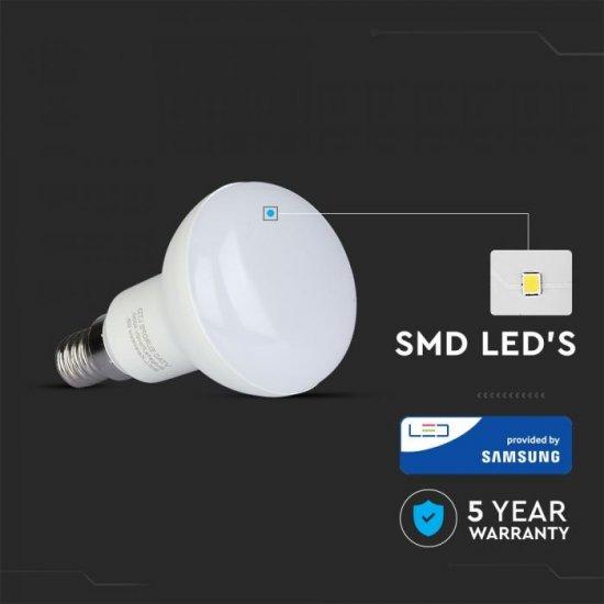 LED крушка рефлекторна R50 E14 VT-250 Samsung chip 6W 6400К 470Lm