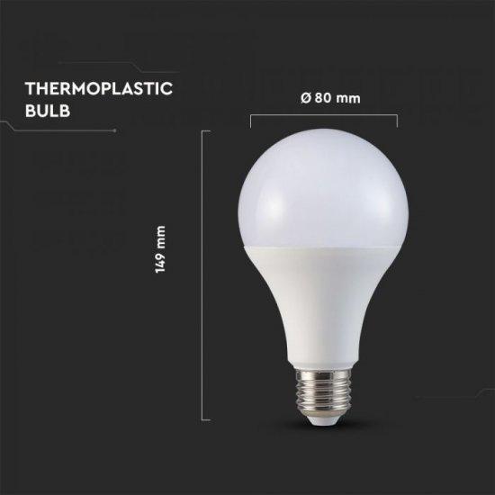 LED крушка E27 VT-233 Samsung chip 20W 3000К 2452Lm