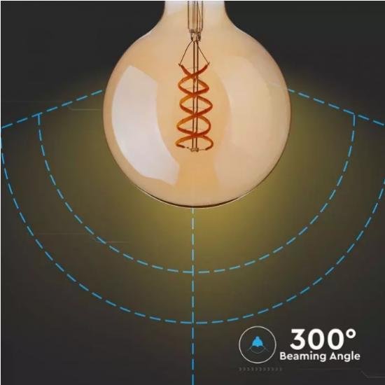 LED крушка Filament E27 VT-2075 5W 2200К 300Lm
