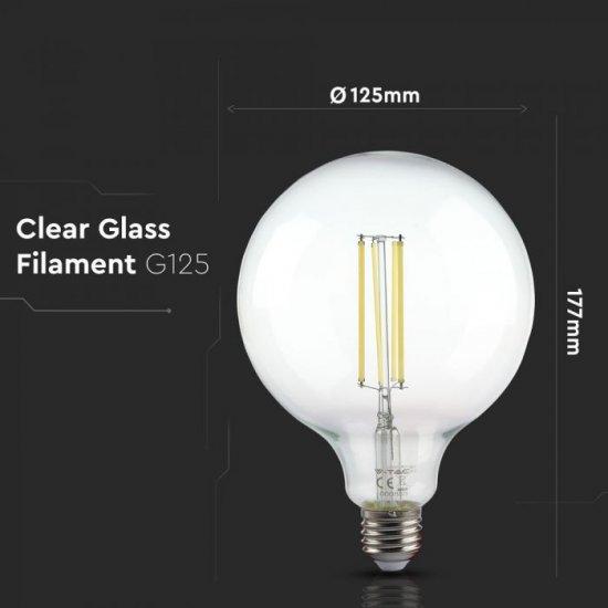 LED крушка Filament Е27 VT-2143 12.5W 6500К 1550Lm