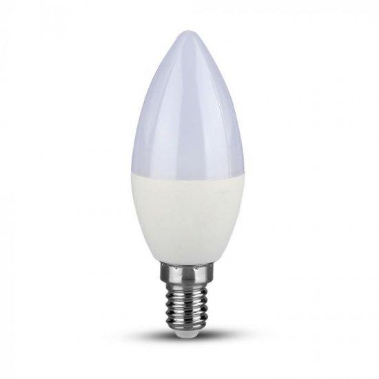 LED крушка свещ E14 VT-268 Samsung chip 7W 3000К 600Lm