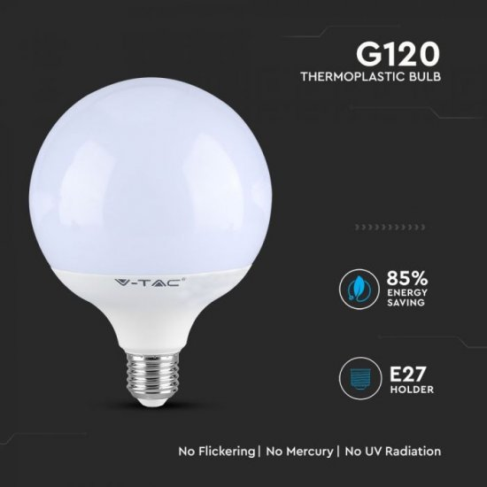LED крушка E27 VT-288 Samsung chip 18W 4000К 2000Lm