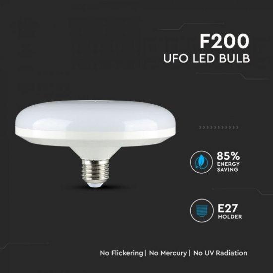 LED крушка UFO E27 VT-224 Samsung chip 24W 3000К 1900Lm