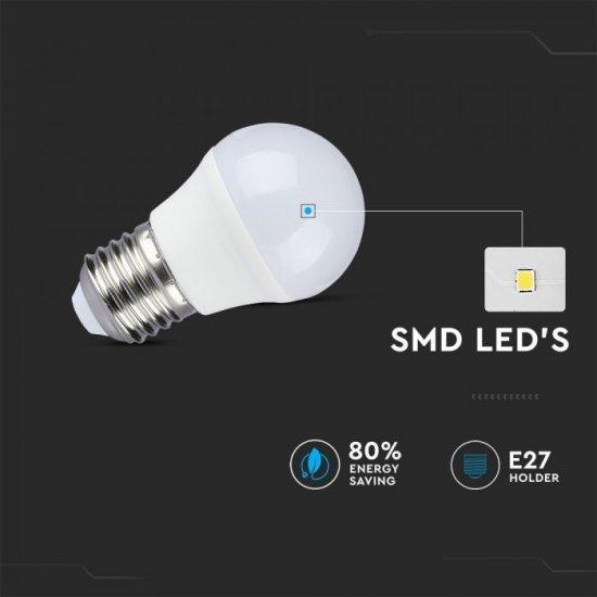 LED крушка E27 VT-2224 3.5W RGB+4000К 320Lm димируема чрез дистанционно управление