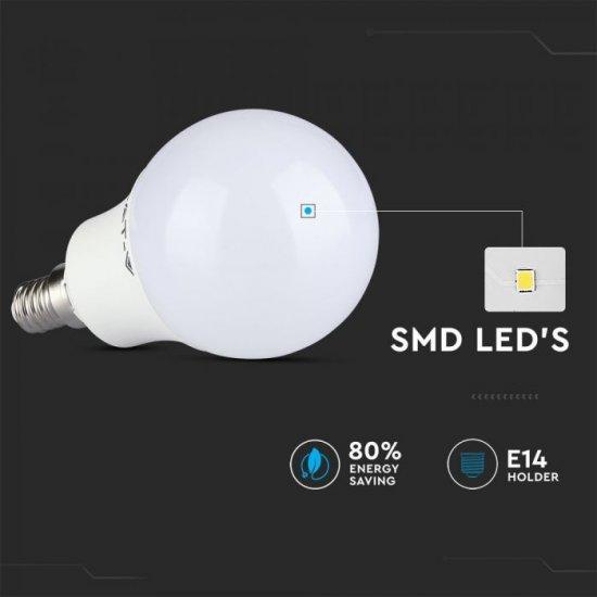 LED крушка E14 VT-2234 3.5W RGB+6400К 320Lm димируема чрез дистанционно управление