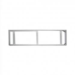 Рамка за външен монтаж за LED панел 120х30см бяла