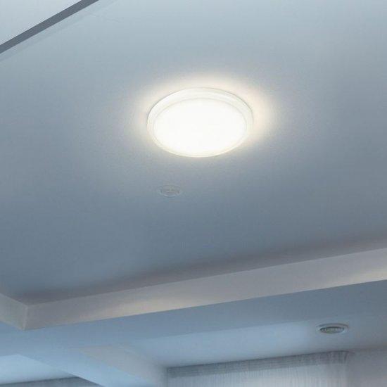 LED плафон VT-12S Samsung chip 12W 4000K 1440Lm IP65 ф27см 120Lm/W