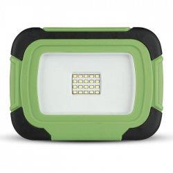 LED прожектор SAMSUNG CHIP VT-11-R 10W 4000K 700Lm IP44 презаредим + SOS функция