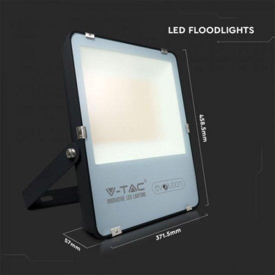 LED прожектор EVOLUTION VT-49261 200W 4000K 32000Lm IP65 черен 160Lm/W