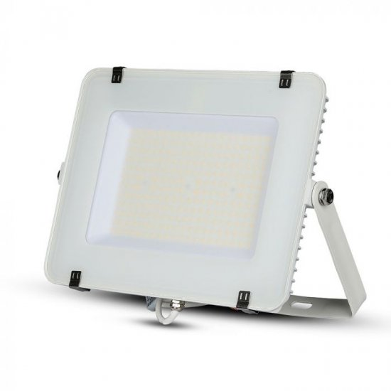 LED прожектор SAMSUNG CHIP VT-156 150W 6400K 18000Lm IP65 бял 120Lm/W
