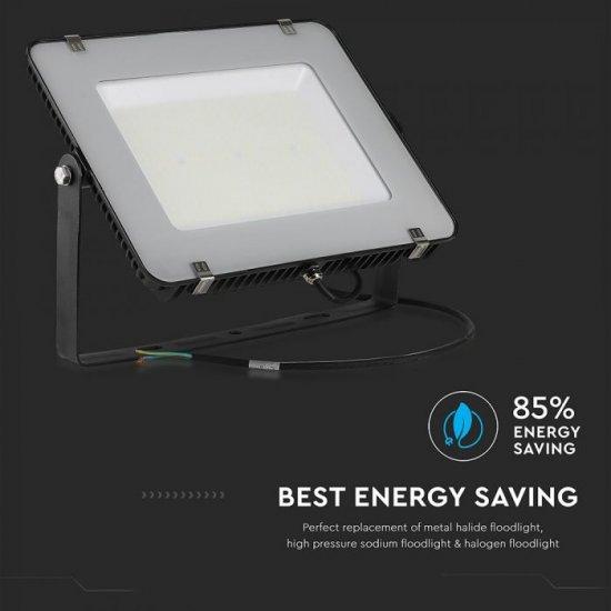 LED прожектор SAMSUNG CHIP VT-1055 1000W 4000K 120 000Lm IP65 черен 120Lm/W