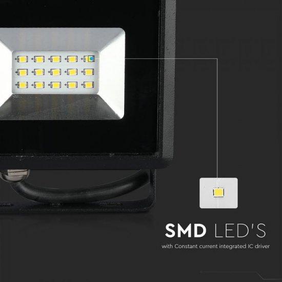 LED прожектор E-Series VT-4051 50W 4000K 4250Lm IP65 черен
