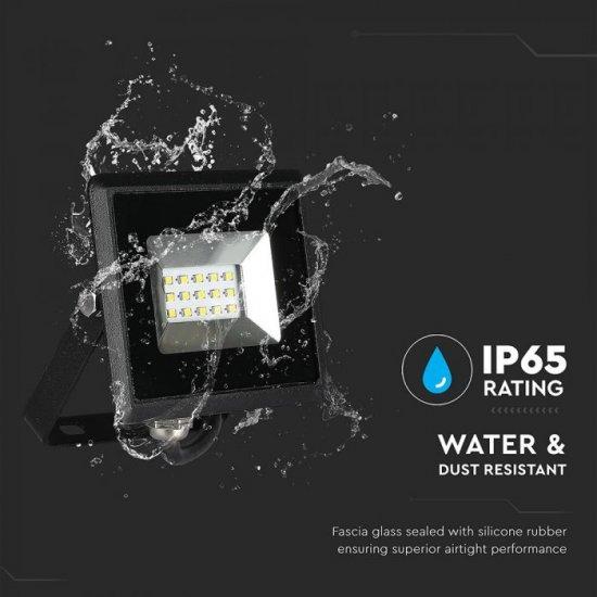 LED прожектор E-Series VT-4031 30W 4000K 2550Lm IP65 черен