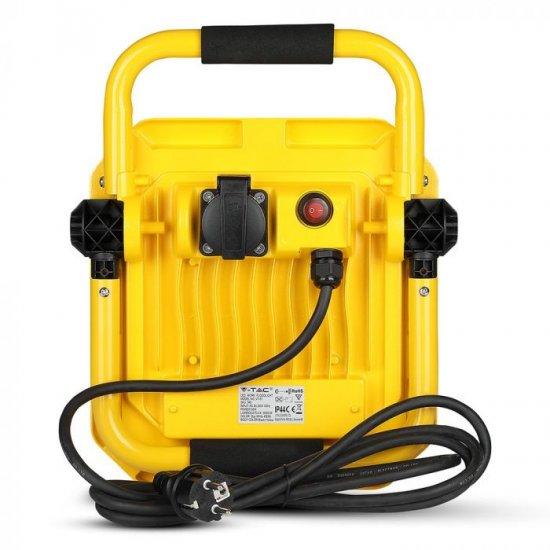 LED прожектор SAMSUNG CHIP VT-51 50W 6400K 4000Lm IP44 със стойка