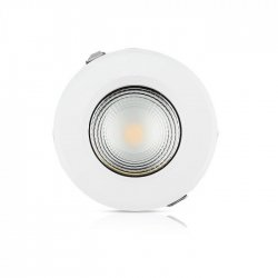 LED COB луна VT-26451 40W 4000К 4800Lm IP20 бяла 120Lm/W