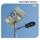 LED соларен уличен осветител iStar 30W 5000K 4200Lm IP66
